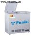 Tủ đông cánh vali Funiki  2 ngăn 2 chế độ đông và lạnh FCF330S2